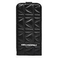 Чехол Lagerfeld Kuilted для iPhone 6/6s, Цвет: Чёрный