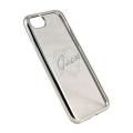 Чехол Guess Signature Heart для iPhone 7, Цвет: Серебристый