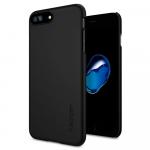 Чехол Spigen Thin Fit 360 для iPhone 7 Plus, Цвет: Чёрный