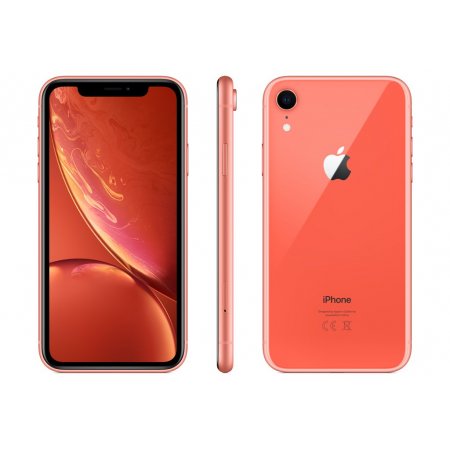 iPhone XR 128 ГБ коралловый