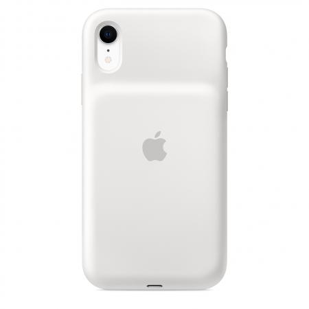 Чехол Smart Battery Case для iPhone XR (белый)