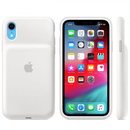 Smart Battery Case для iPhone XR (белый)