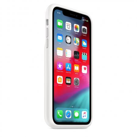 Чехол аккумулятор для iPhone XR (белый)